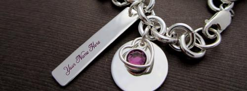 Charm Heart Necklace Facebook Cover