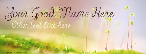 Early Spring FB Cover With Name
