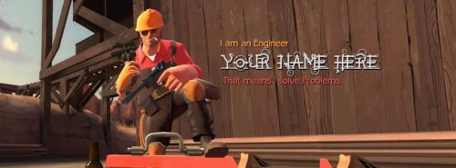 Engineer FB Cover With Name