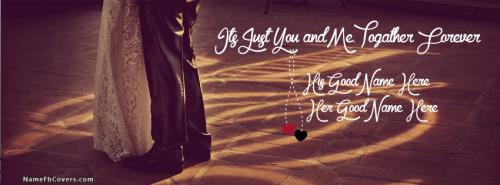 Its Just You and Me Facebook Cover