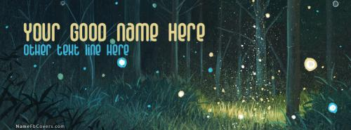 Magic Forest Facebook Cover