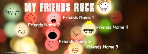 My Friends Rock Facebook Cover
