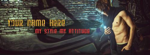 My Style My Attitude FB Cover With Name