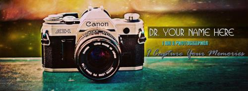 Photographer FB Cover With Name