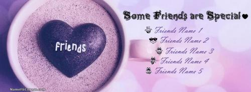 Some Friends Are Special Facebook Cover