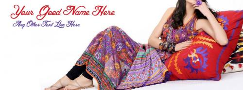 Summer Fashion Fb Cover With Name