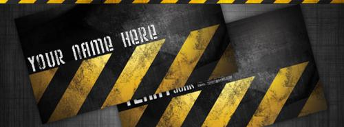 Urban Style FB Cover With Name