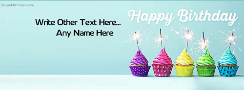 Special Happy Birthday Cover Photo With Name FB Cover With Name