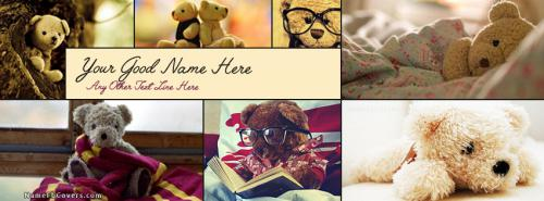 Teddy Life FB Cover With Name
