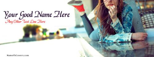 Teen Girl FB Cover With Name