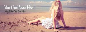 Alone Beach Girl Name Cover