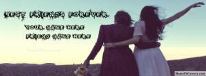 Best Friends Forever Like Sisters Name Cover