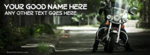 Bike Guy Name Facebook Cover