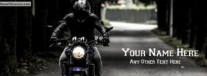 Bike rider Guy Name Cover