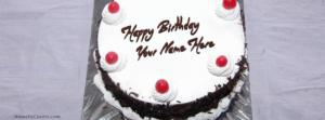 Black Forest Birthday Cake Name Cover