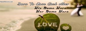 Born To Love Couple Name Cover