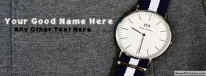Daniel Wellington Watch Name Cover