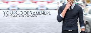 Decent Style Boy Name Facebook Cover