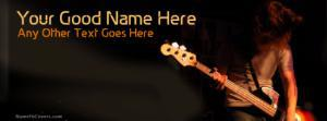 Guitar Lover Name Cover