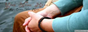 Guy bracelet Name Facebook Cover