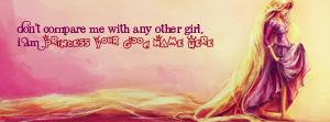 I am princess Name Facebook Cover
