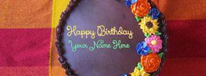Awesome Flower Birthday Cake