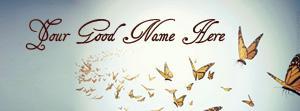 Beautiful Butterflies Name Cover