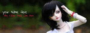 Beautiful Doll Name Facebook Cover