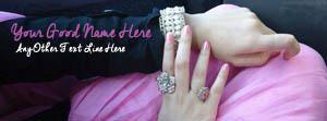 Beautiful Girl Jewelry Name Facebook Cover