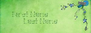 Beautiful PC Garden Name Cover