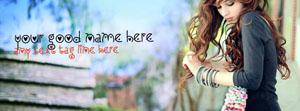 Beautiful Stylish Girl Name Facebook Cover