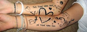 Best Friends Art Name Facebook Cover Photos