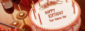 Birthday Cake Name Cover