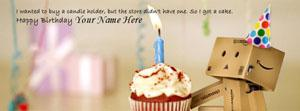 Birthday Wish Name Facebook Cover