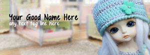 Cute Little Doll Name Cover