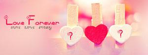Cute Love Story Name Facebook Cover