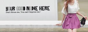 Dont Stress me You cant Impress me Name Cover