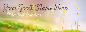 Early Spring Name Facebook Cover