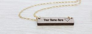 Engraved Bar Necklace Name Facebook Cover