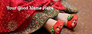 Girl Heels Name Facebook Cover