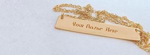 Golden Pandent Name Facebook Cover