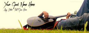 Guitar Guy Name Facebook Cover