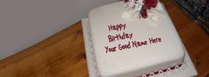 Happy Birthday Cake Name Cover
