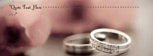 Happy Wedding Name Facebook Cover