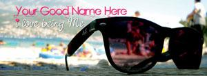 I love being Me Name Facebook Cover