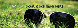 I Love Me Name Facebook Cover