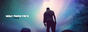 Lonely Boy Name Facebook Cover