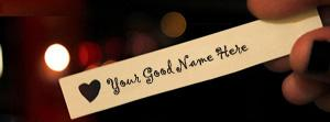 Made for You Name Facebook Cover