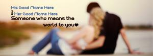 Means the World to You Name Cover