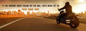 Never Get On Name Facebook Cover